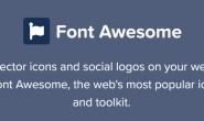 在网站上如何使用Font Awesom图标